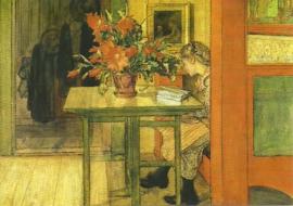 Liesbeth leest, Carl Larsson