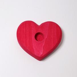 Hart voor 1 steker (9 cm)