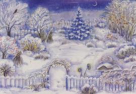 Tuin met Kerstmis, E. Rothenbühler