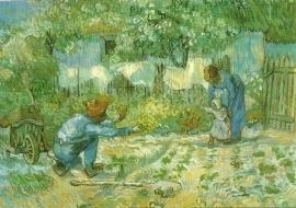 Eerste stapjes, Vincent van Gogh