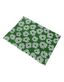 Olino Paperworks, Notebook met Blossom print, Groen