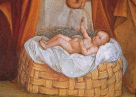 Jezus (detail uit Aanbidding), San Maria delle Grazie