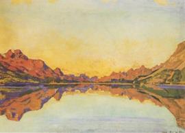 Der Silvaplanersee, Ferdinand Hodler