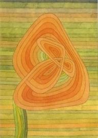 Eenzame bloem, Paul Klee