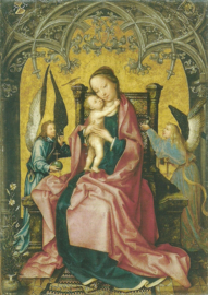 Madonna met het Jezuskind, Hans Holbein de oudere