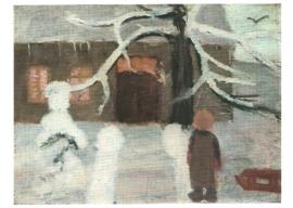Jongen in de sneeuw, Paula Modersohn-Becker