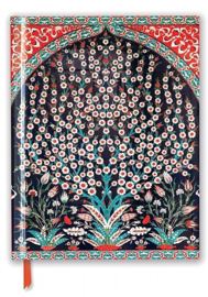 TURKISH WALL TILES, A Flame Tree Blank Sketch Book