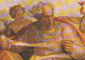 De profeet Joël, Michelangelo