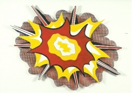 Explosie no. 1, Roy Lichtenstein