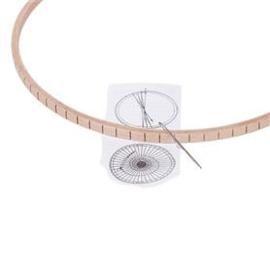 Weefraam rond (22cm)