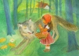 Roodkapje en de wolf, Dorothea Schmidt