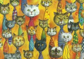 Katten-stropdassen, Bernhard Oberdieck
