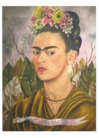 Zelfportret toegewijd aan Dr. Eloesser, Frida Kahlo
