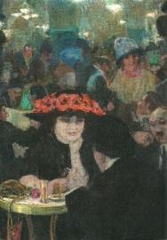 Dame met hoed, Leo Gestel