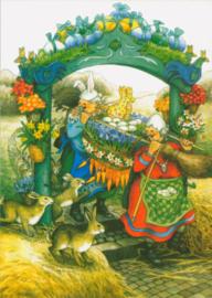 Vrouwen bij Paasdecoratie, Inge Löök