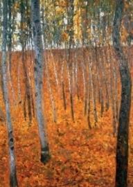Beuken bosschage I, Gustav Klimt