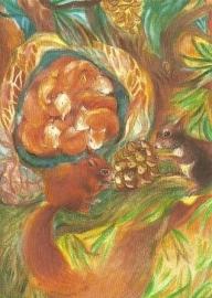 Eekhoornkinderen, Marie-Laure Viriot