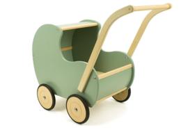 Houten poppenwagen - van Dyk toys