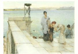 Een kus, Sir Lawrence Alma-Tadema