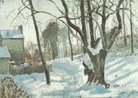 Sneeuwlandschap, Camille Pissarro