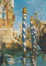 Canal Grande in Venetië, Edouard Manet