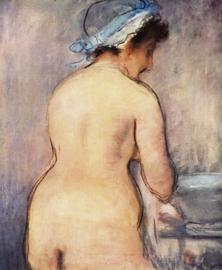 Het toilet, Edouard Manet