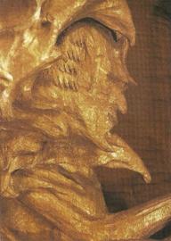 Hoofd van Ahriman in de rotsholte, Rudolf Steiner