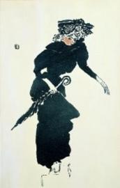 Vrouw met paraplu, Pierre Bonnard