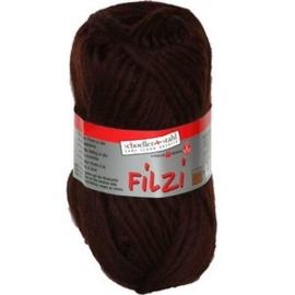 Filzi 100% viltwol 50 gram / bol kleur 009 chocola