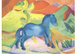 Blauw paard, Franz Marc