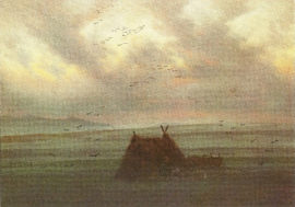 Nevelsluiers, Caspar David Friedrich
