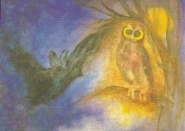Uil en vleermuis, Jula Scholzen Gnad