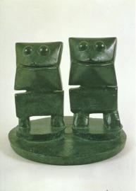 Twee assistenten, Max Ernst