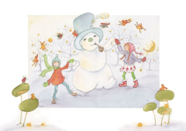 Frosty the snowman, Pauline Meijer
