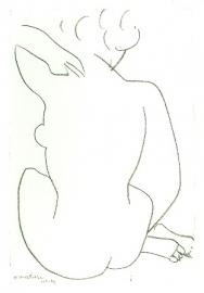 Naakt op de rug gezien, Henri Matisse