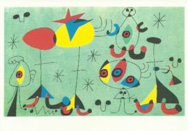 Snobistisch feest, Joan Miró