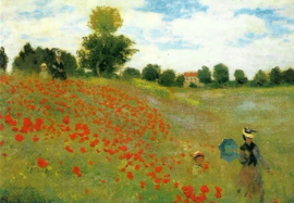 Klaprozen, Claude Monet