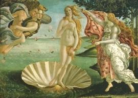 De geboorte van Venus, Sandro Botticelli