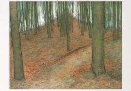 Boslandschap, Piet Mondriaan