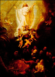 Hemelvaart Christus, Rembrandt
