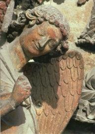 Lachende engel, kathedraal Reims