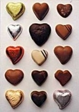 Chocolade harten, Letizia Volpi