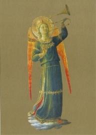 Musicerende engel trompet, Fra Angelico