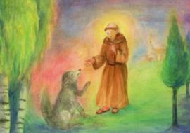 Franciscus en de hond, Dorothea Schmidt