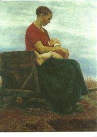De zuigeling, Fritz Mackensen