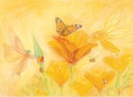 Sylphen helpen bloemen, Marjan van Zeyl