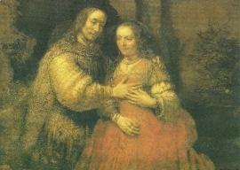 Joodse bruidje, Rembrandt
