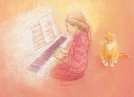 Pianospelen, Marjan van Zeyl