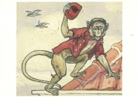 Aap van het leesplankje, Cornelis Jetses