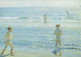 Zwemmende jongens, Peder Severin Kroyer